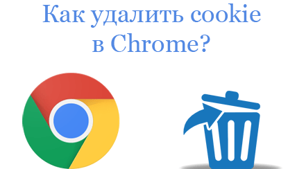 Как удалить cookie в Google Chrome