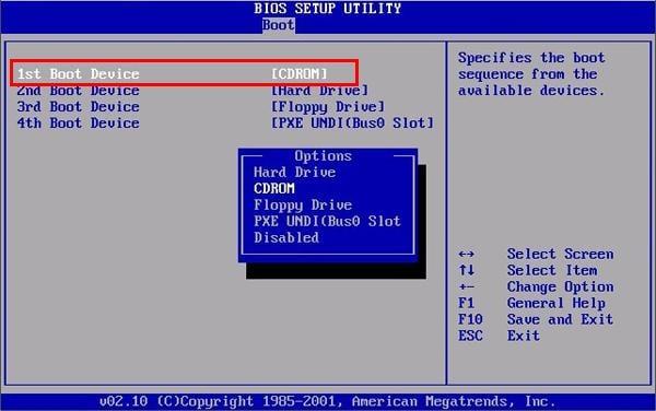 Как настроить БИОС для установки Windows 7