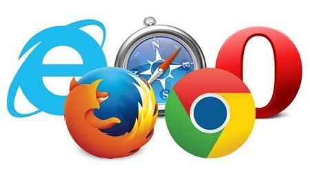 Логотипы популярных браузеров