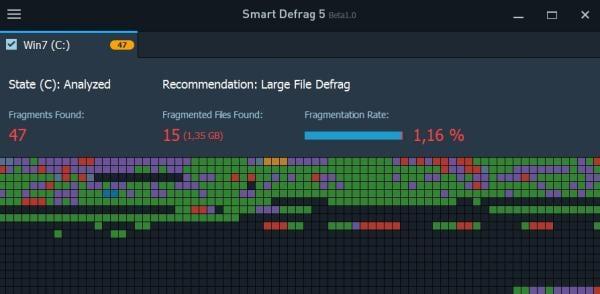 Программа IObit Smart Defrag