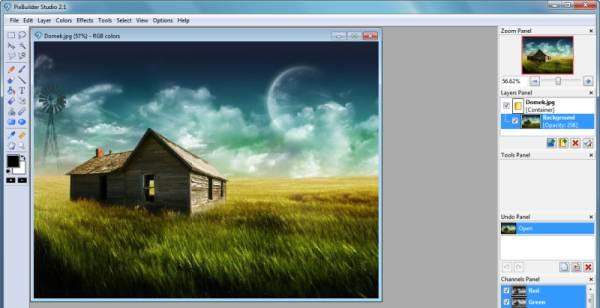Инструмент PixBuilder Studio