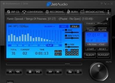 Утилита JetAudio Basic