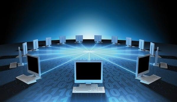Картинка компьютеров в сети