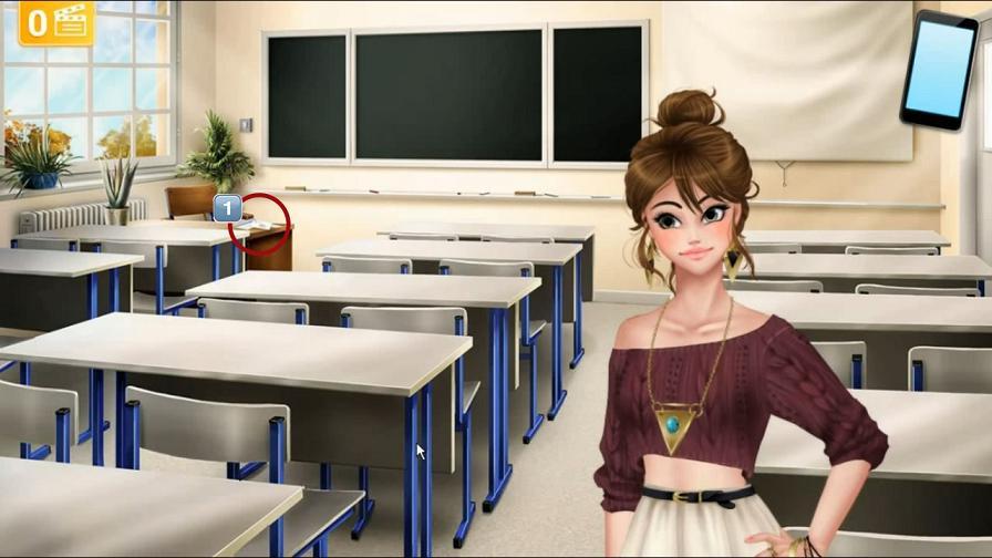 Учительский стол с освобождением Генри