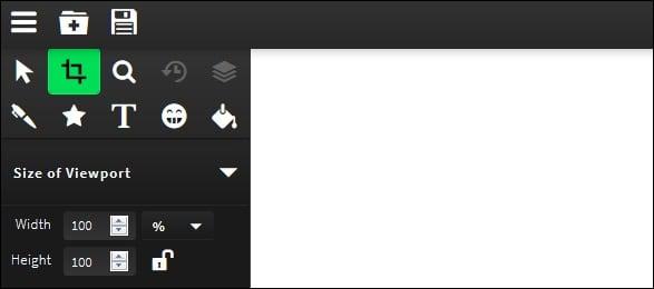 Панель инструментов сервиса sketch