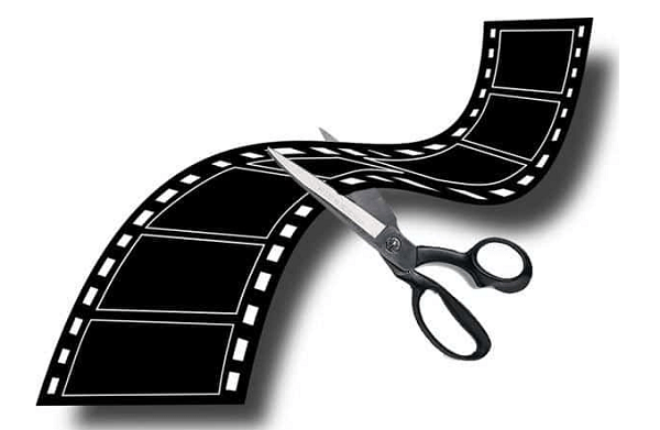 Вырезаем лишние куски видео