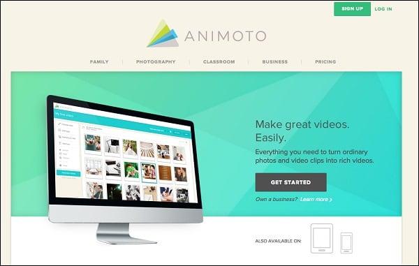 Используйте возможности сервиса animoto.com для создания своих слайд-шоу