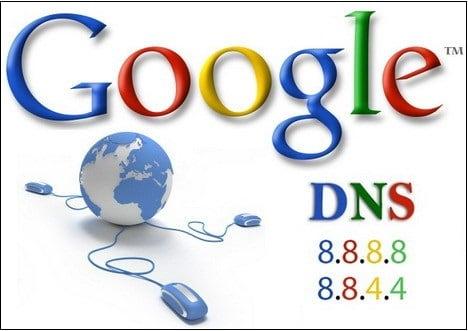Адреса серверов DNS от Google
