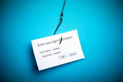 Использование хэширования позволяет избежать фишинговых сайтов