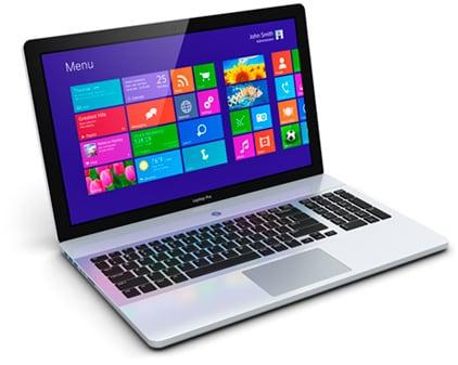 Ноутбук с ОС Windows