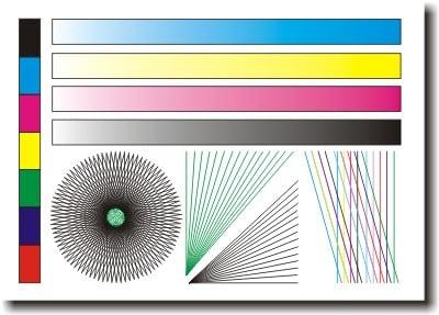 Тестовая страница для проверки цветного принтера