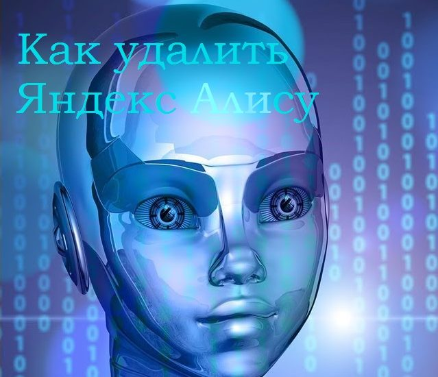 Удаляем Яндекс Алису из компьютера и телефона