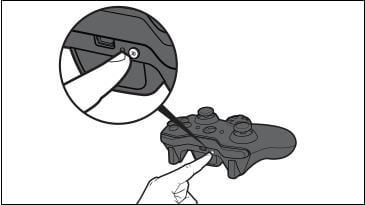 Кнопка на контроллере