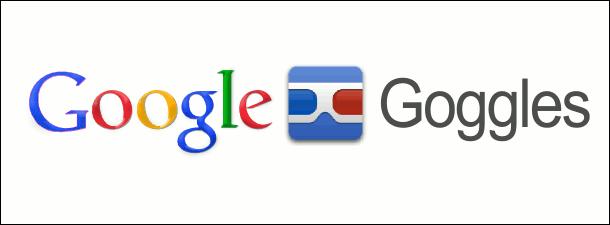 Надпись Google Goggles
