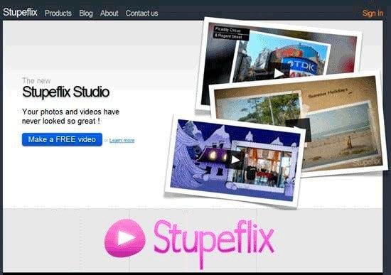 Загружаем ролик на stupeflix