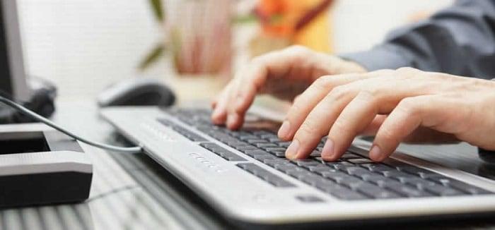 Печатаем на клавиатуре
