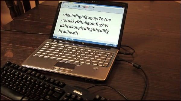 Подключаем внешнюю клавиатуру к нашему ноутбуку