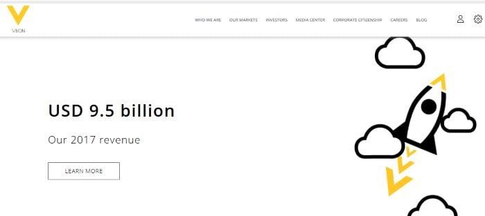 Официальный сайт ВымпелКом