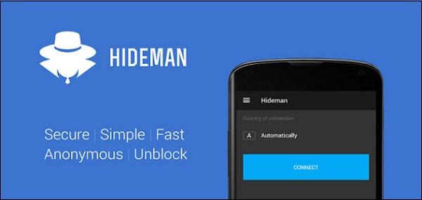 Приложение Hideman