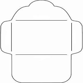 Элемент лэпбука конверт