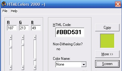 HTMLColor 2000