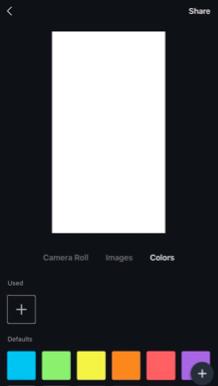 Цвет для фона Канва