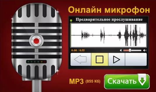 Онлайн-микрофон