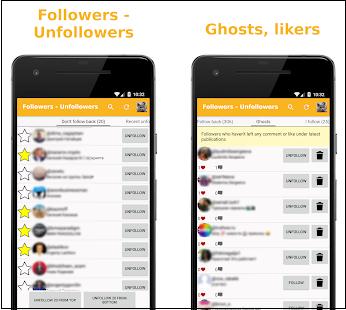 "Приложение ""Followers – Unfollowers"""