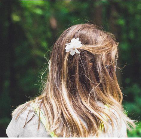Ромашка в волосах