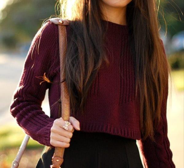 Девушка с сумочкой