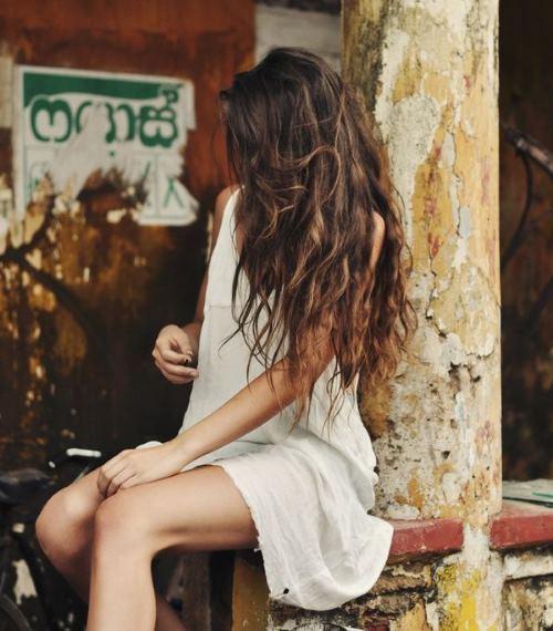 Фото девушки русые волосы на аву 26