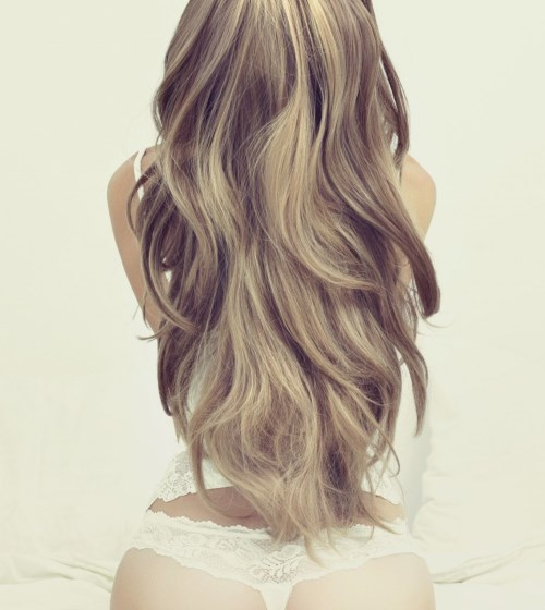 Фото девушки русые волосы на аву 15