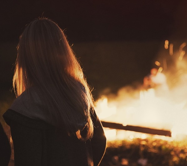 Фото девушки русые волосы на аву 3
