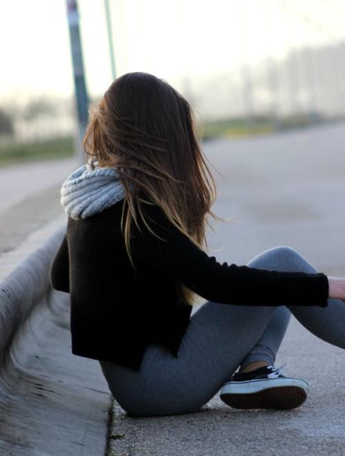 Фото девушки русые волосы на аву 5