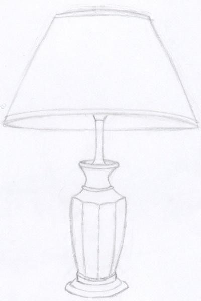 Рисунок торшера