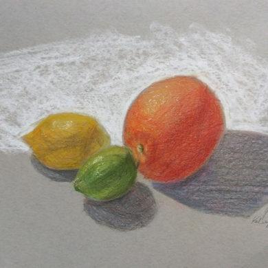Рисунок фруктов