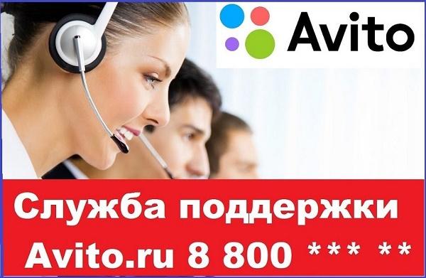 Служба поддержки Avito