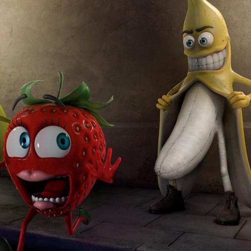 Банан клубничка