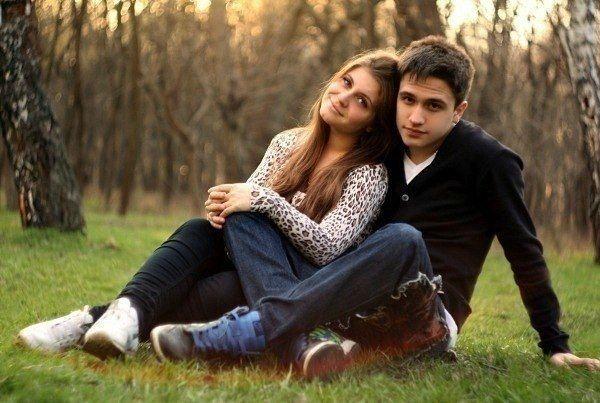 Стильное фото пара