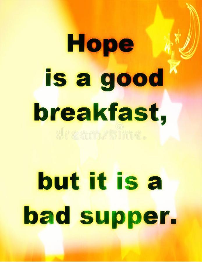 Надежда хороший завтра