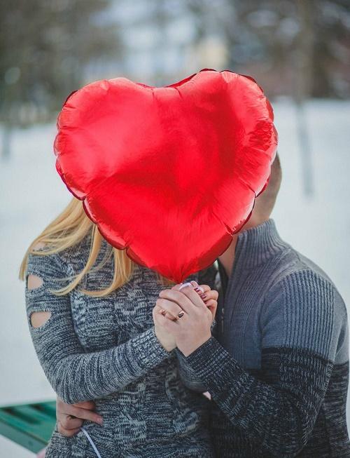 Пара с сердцем