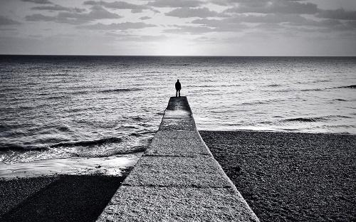 море человек