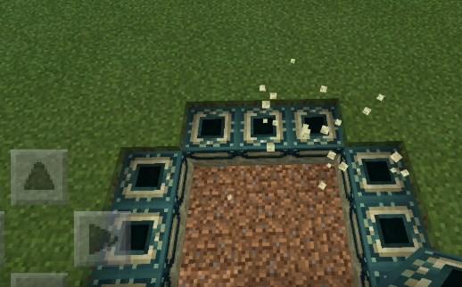 Скриншот размещения порталов