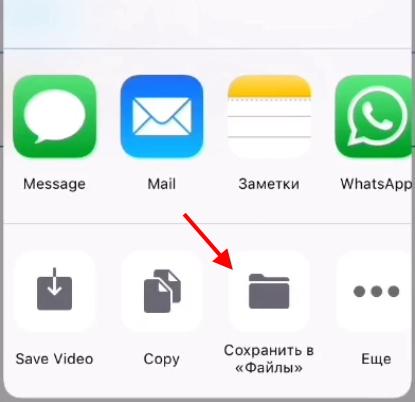 Кнопка сохранения в файлы