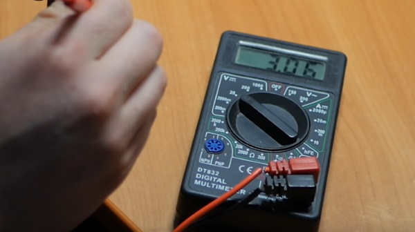 Проверьте зарядное устройство