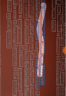 Выделенный участок текста