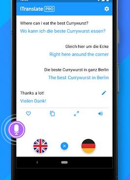 Приложение iTranslate