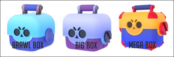 Три вида коробок