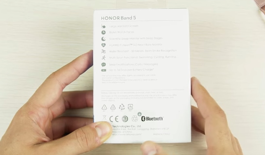 Характеристики Honor Band 5