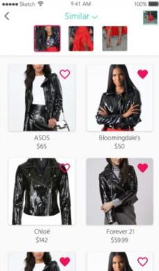 Поиск одежды